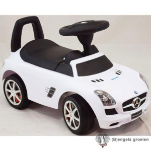 Loopauto - Mercedes - Wit
