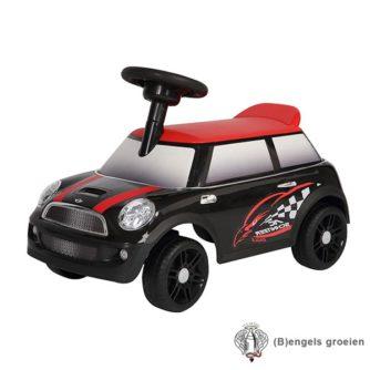Loopauto - Mini Cooper - Zwart