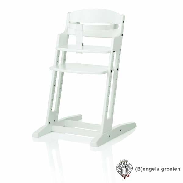 Baby Dan Meegroeistoel.Meegroeistoel Dan High Chair Wit