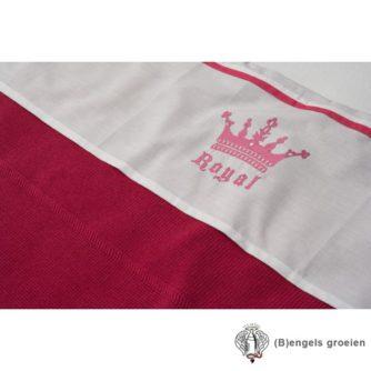 Laken - Ledikant - Crown - Fuchsia