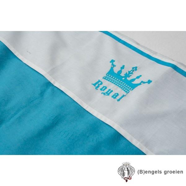 Laken - Ledikant - Crown - Turquoise