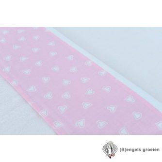 Laken - Ledikant - Hearts Pink