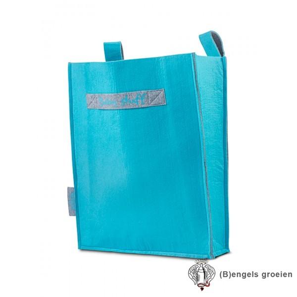 Boxopbergzak - Vilt - Aqua