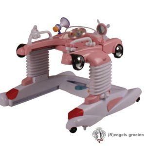 Loopstoel - Vliegende Hollander - Roze
