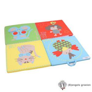 Reismatras - 4 Fold Mattress - Play and Sleep - Bird