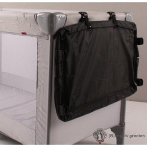 Commodeblad - Travel Cot - Zwart