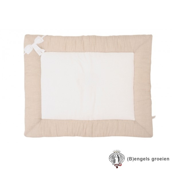 Boxkleed - Linen Bow - Naturel