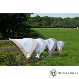 Boxkleed - Linen Bow - Naturel