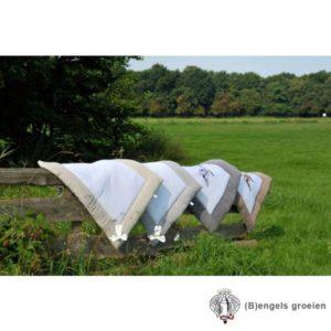 Boxkleed - Linen Bow - Grijs