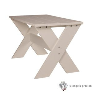 Kleutertafel - Cross - MDF - Wit