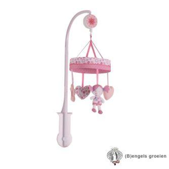 Muziekmobiel - Pink Flowers