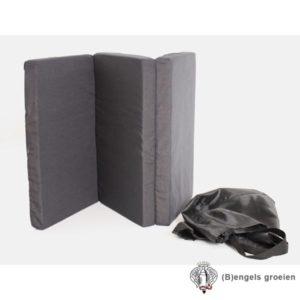 Reismatras - 3 Fold Matras - De Luxe - Ledikant