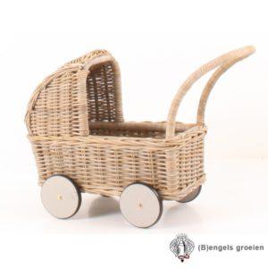 Poppenwagen - Kobo - Grijs