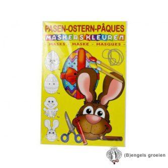 Maskers Maken - Pasen - 4 st
