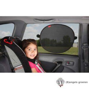 Auto Zonneschermen - Zijruiten - Sun Stoppers - 2st