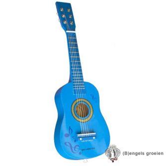 Gitaar - Muziektekens - Blauw
