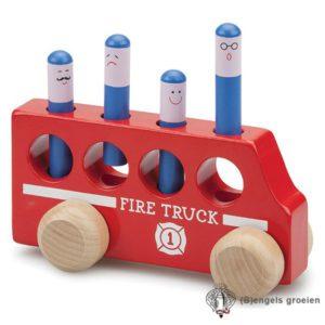 Pop Up - Brandweerauto