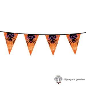 Halloween - Vlaggenlijn - Zwarte Dieren - 6 m