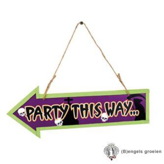 Halloween - Wegwijzer - Party This Way