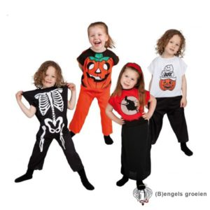 Halloween - Kinderkostuum - Heks - 4 - 6 jr