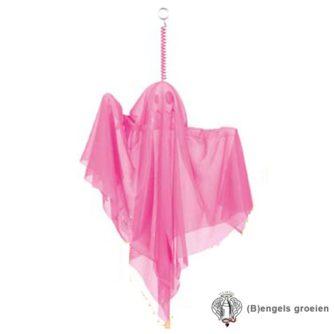 Halloween - Spook - Decoratie - 50 cm - Roze