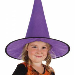Halloween - Heksenhoed - Little Ursula - Paars