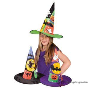 Halloween - Heksenhoed - Kind - Paars
