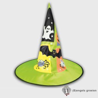 Halloween - Heksenhoed - Kind - Groen