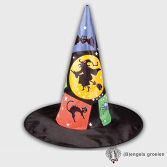 Halloween - Heksenhoed - Kind - Zwart