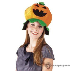 Halloween - Hoed - Pompoen