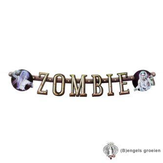 Halloween - Letterslinger - Zombie - 100 cm