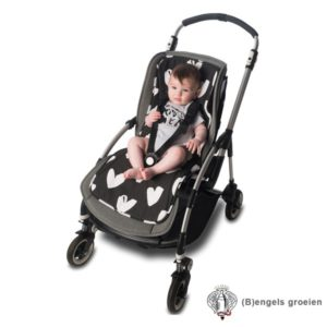 Buggy Inleg - Stroller Liner - All My Heart