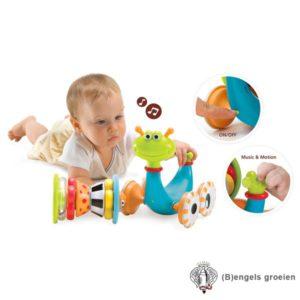 Kruipspeeltje - Slak - Crawl 'N' Go Snail