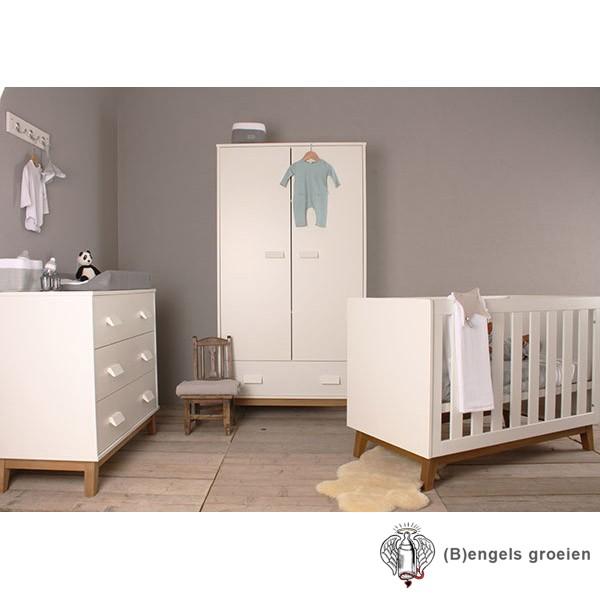 Complete Babykamers Aanbiedingen.Happy Baby Complete Babykamer New Vintage Wit Beuken B