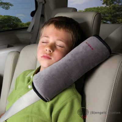 Gordelkussen - Seatbelt Pillow - Grijs