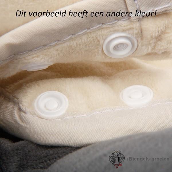 Universele Autostoelverkleiner - Cuddle Soft - Roze/Grijs