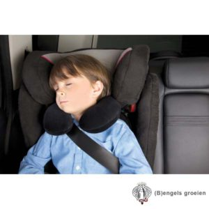 Kinder Reiskussen - Travel Pillow - Zwart