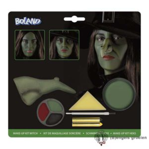 Halloween - Make-up kit - Heks