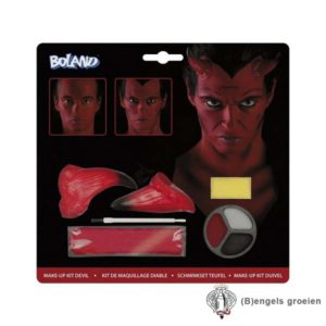 Halloween - Make-up kit - Duivel