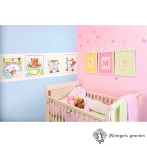 Posterbehang - Bed Bath Book - 3 Panelen