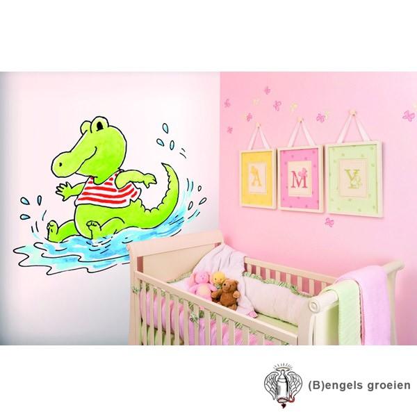 Posterbehang - Splashing Krook - 3 Panelen