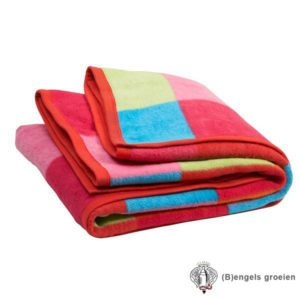 Deken - Ledikant - Colourful Check
