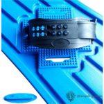 Plastic Snowboard - Blauw