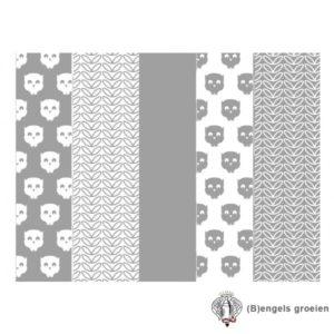 Hydrofiel luiers - Owl - Grijs (6 st.)