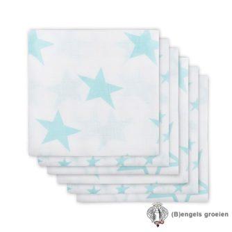 Hydrofiel luiers - Little Star - Jade - 6st