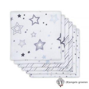 Hydrofiel luiers - Stardust - Grijs - 6st