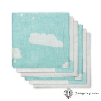 Hydrofiel luiers - Clouds - Jade - 6st