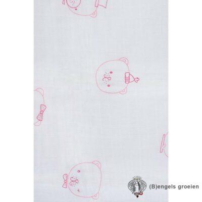 Hydrofiel luiers - Funny Bear - Roze - 6st