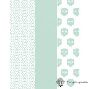 Hydrofiel multidoeken - Owl - Mint (3 st.)