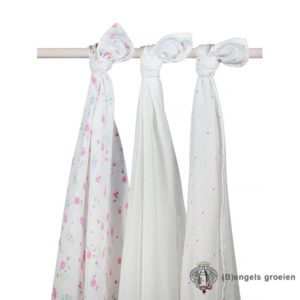 Hydrofiel multidoeken - Blooming Pink - 3st